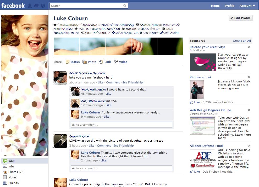hack your facebook profile picture. Black Bedroom Furniture Sets. Home Design Ideas